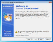pobierz program Acronis Drive Cleanser