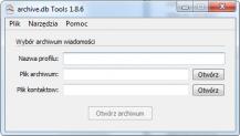 pobierz program archive.db Tools