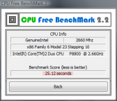 pobierz program CPU Free BenchMark