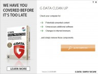 pobierz program G DATA Clean up