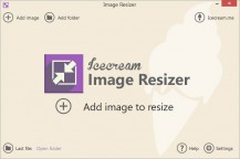 pobierz program Icecream Image Resizer