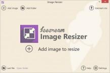 pobierz program Icecream Image Resizer