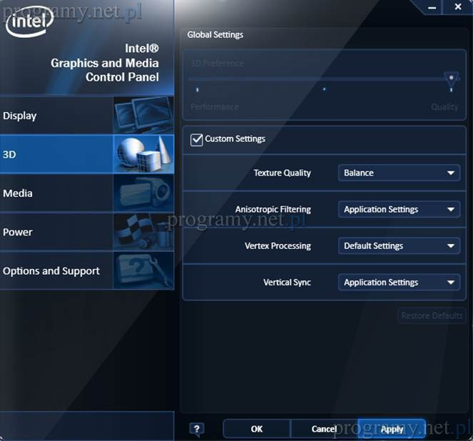 Intel Graphics Driver 15 46 05 4771 do pobrania, download, pobierz w