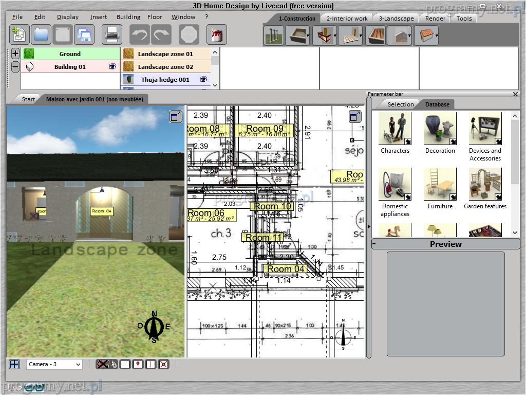 Galeria Programu Home Design By Livecad