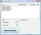 pobierz program Generator haseł 1.0