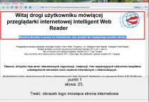 pobierz program Intelligent Web Reader