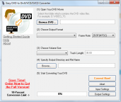 pobierz program Easy DVD to DivX/VCD/SVCD Converter