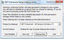 pobierz program .NET Framework Cleanup Tool